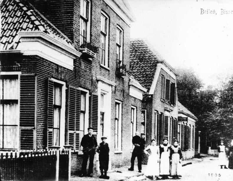 Bisschopsstraat, Beilen - 1905