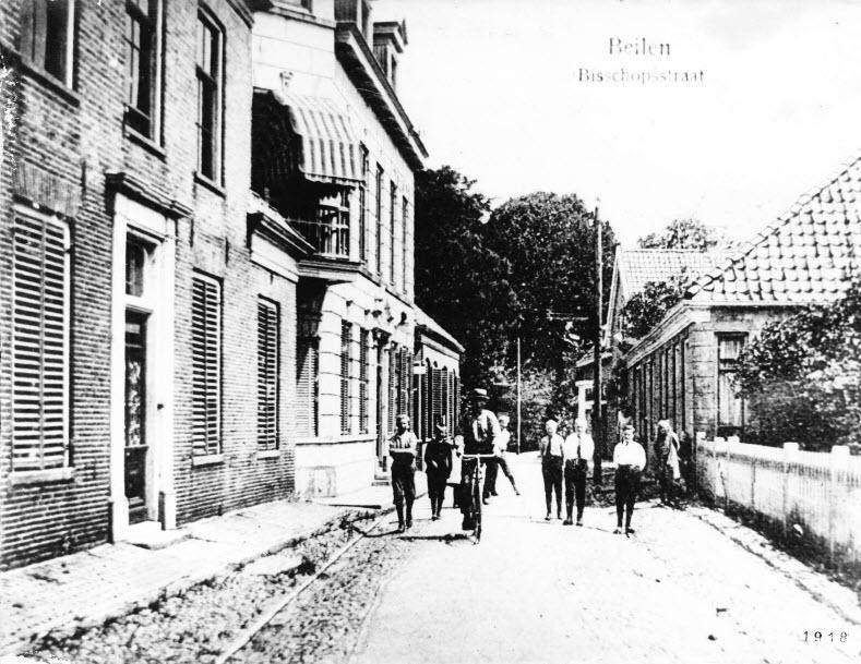 Bisschopsstraat - 1918